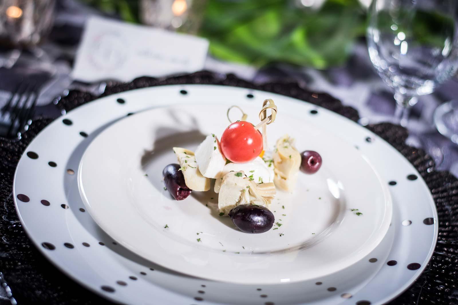 Elegant Tapas Dish