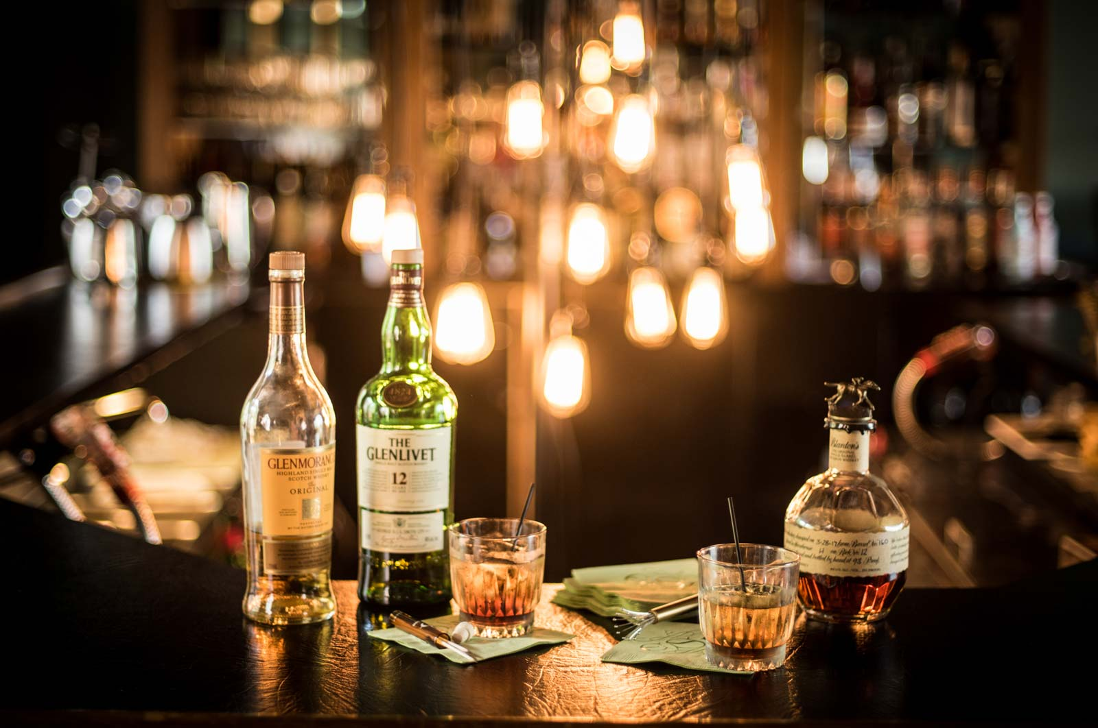 Scotch on Bar