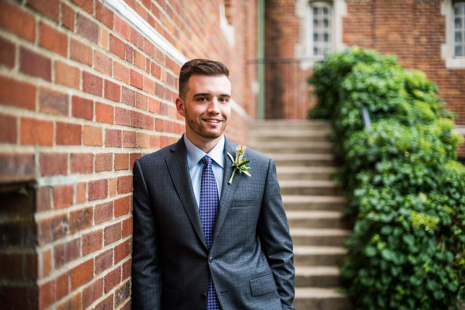 Handsome Gentleman in Suit
