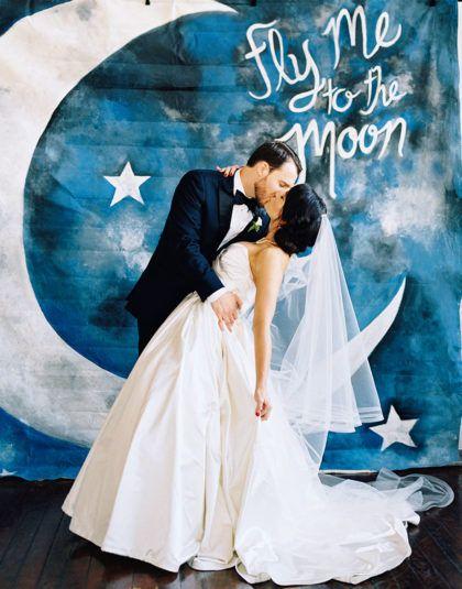 To Infinity Beyond Celestial Themed Wedding Creative