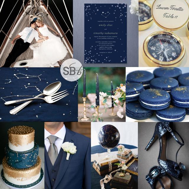 Infinity & Beyond: A Celestial Themed Wedding Decor Details