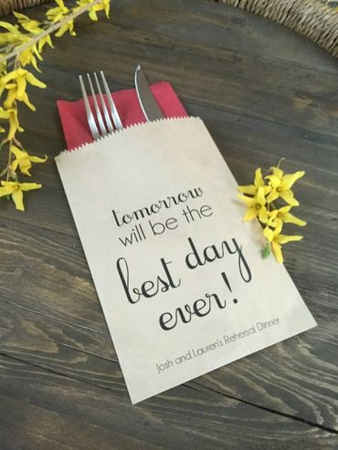 Tips To Help Bring Your Rehearsal Dinner Plans Together…..