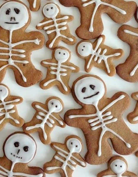 Holiday Magic: Party & Décor Planning-Gingerbread Skeleton Cookies