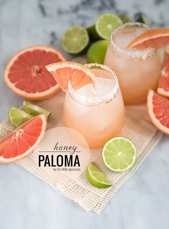 Tips to help bring your rehearsal dinner plans together: Signature Cocktail: Honey Paloma