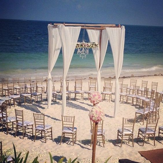Beach Wedding at Sapphire Riviera Cancun