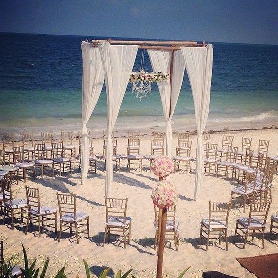 Beach Wedding at Sapphire Riviera Cancun