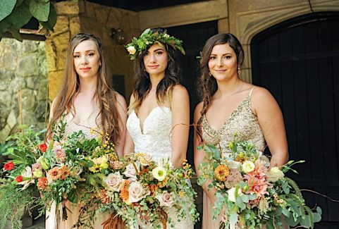 A Boho Chic Wedding At Stan Hywet Hall & Gardens