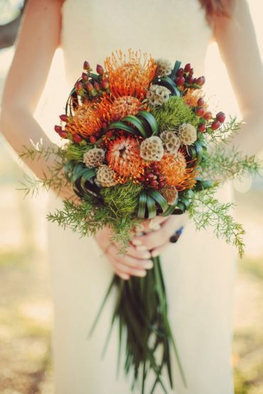Looking For Inspiration For Your Fall Wedding Flowers?