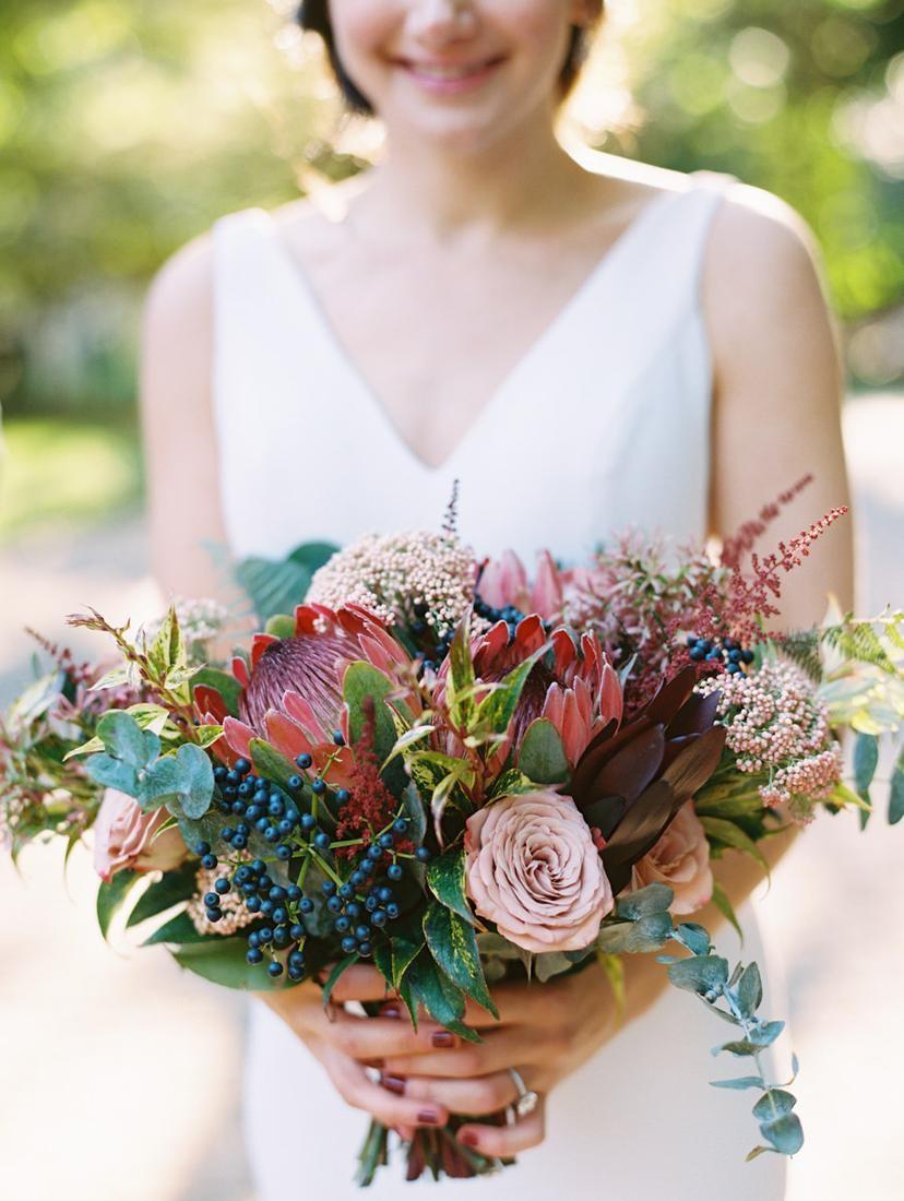 Unique Fall Wedding Bouquet