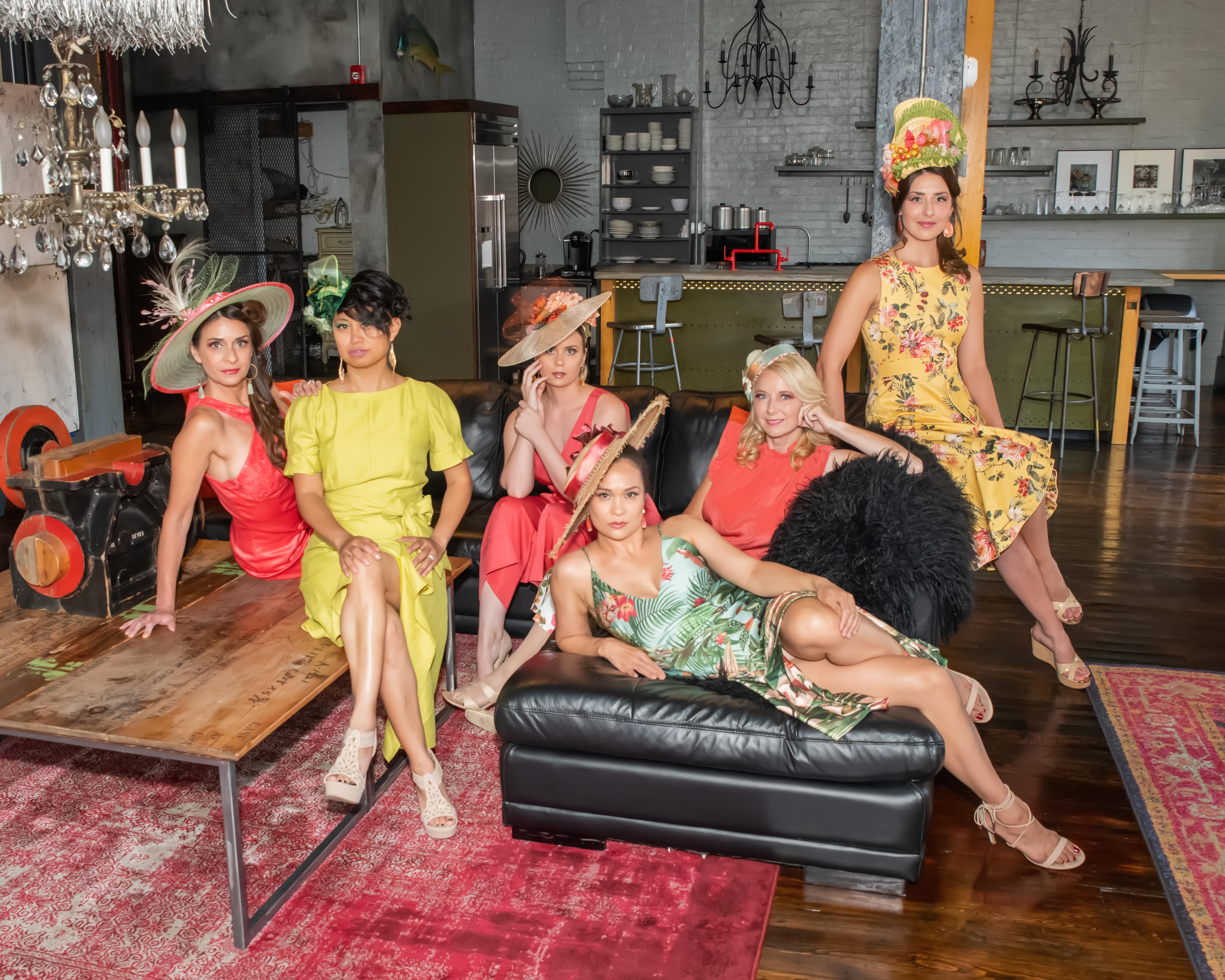 Palm Paradise Models: Alice Beckett-Rumberger, Soigne Legacy, Sindel Taylor, Lani Dee, Michele Langbein & Michelle Senko