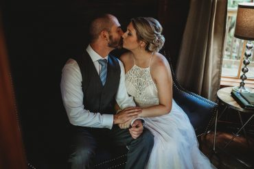 Allison + Nick's Charming Rustic Wedding