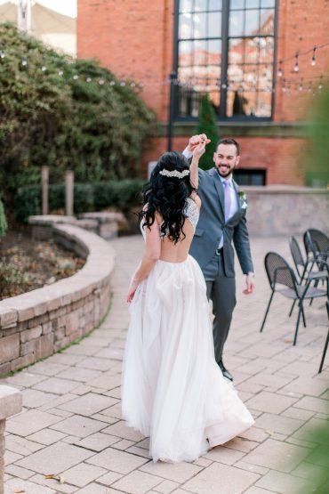 Tracy + Troy's Classic Cleveland Wedding