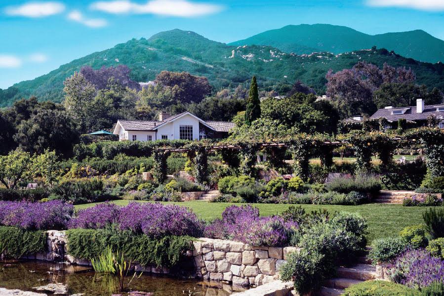Micro Wedding venue San Ysidro Ranch a luxury hotel & resort in Santa Barbara, California