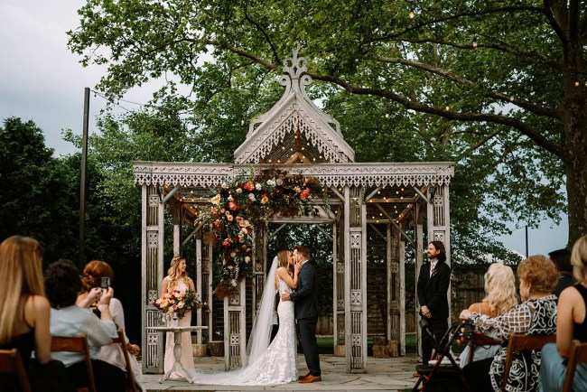 Micro Wedding at the Terrain at Styers   Photo by With Love and Embers