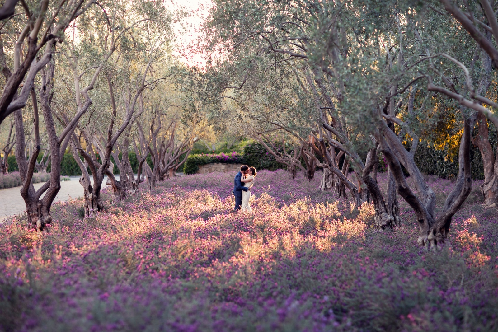 Southern California micro wedding at San Ysidro Ranch   Photo by Michelle Beller Photography