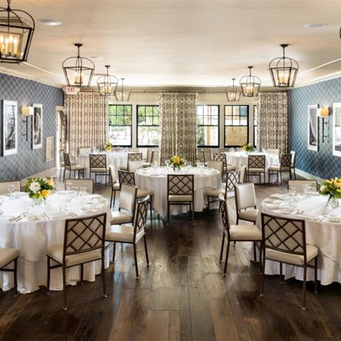 The Menemsha Room at Harbor View Hotel is a charming and intimate setting for your micro wedding reception
