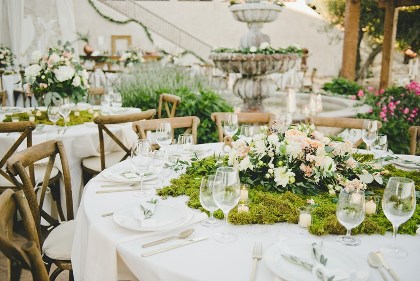 Botanical Reception Tablescape | Photo by One Love Photography