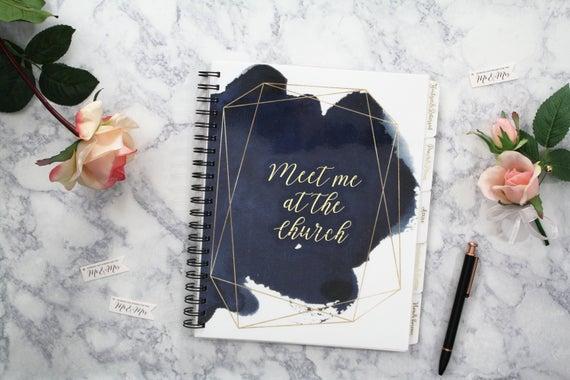 EmandElle Wedding Planning Organizer | Found on Etsy